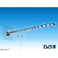 Эфирная антенна ДМВ  LANS  UX-16 (аналог/ DVB-T/ DVB-T2)