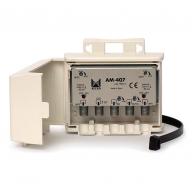 Alcad AM-407 усилитель ТВ сигналов  мачтовый