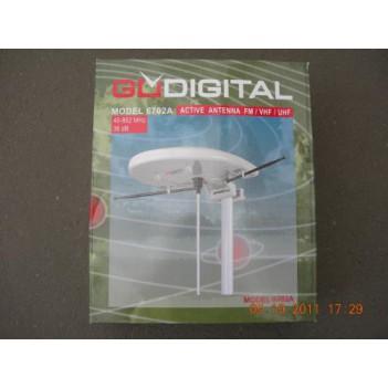 Антенна автомобильная телевизионная GODIGITAL model 6702A