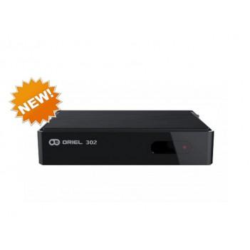 Эфирный ресивер (приставка) ORIEL 302 (DVB-T2)