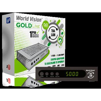 Цифровой приемник DVB-T2 World Vision T64LAN