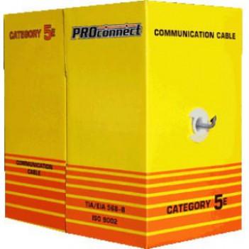 Кабель FTP 4PR 24AWG CAT5e 305м CCA PROCONNECT