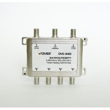 Переключатель (свитч) DiviSat 3x6 пассивный