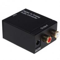 Конвертер цифро-аналоговый коаксиальный оптический