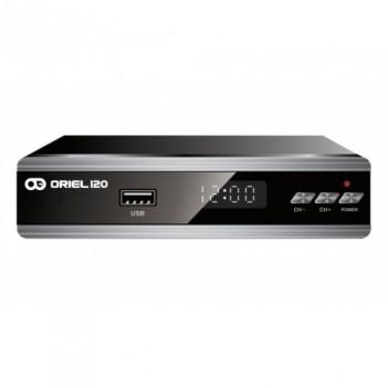 Эфирный ресивер (приставка) Oriel 120 (DVB-T2)