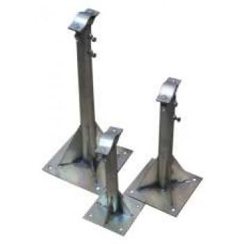 Кронштейн телескопический для мачты оцинкованный КТМ 50-90