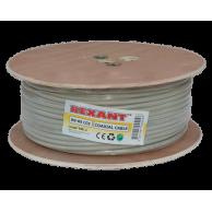 Кабель REXANT RG-8X 50 Ом серый