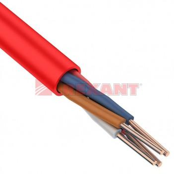 Кабель огнестойкий для сигнальной проводки КПСнг(А)-FRLS 2x2x0,2мм² REXANT (0,5мм)