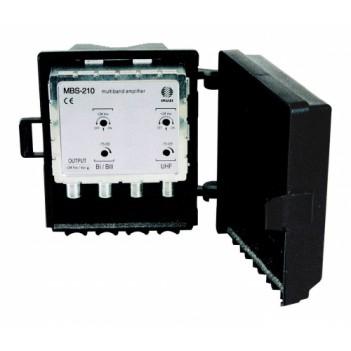 Усилитель ТВ сигналов Ikusi MBS-210 (мачтовый) с БП
