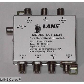 Переключатель (свитч) LANS LS 34