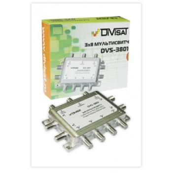 Переключатель (свитч) DiviSat 3x8 пассивный
