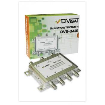 Переключатель (свитч) DiviSat 3x4 пассивный