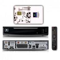 Спутниковый Full HD-ресивер Opentech OHS1740V с антенной и подключением к НТВ+
