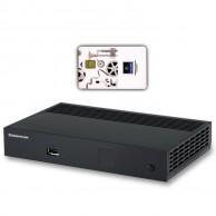 Спутниковый ресивер Sagemcom DSI74 HD с картой доступа НТВ+ и договором