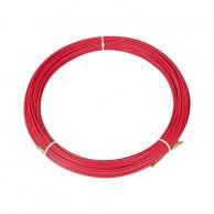 Протяжка кабельная (мини УЗК в бухте), стеклопруток, d=3,5мм, 50м (красная)
