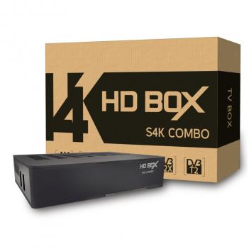 Ресивер спутниковый HD BOX S4K COMBO