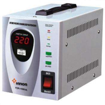 Стабилизатор напряженияVINON FDR-1500 VA